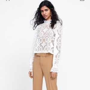 Zara Lace Shirt